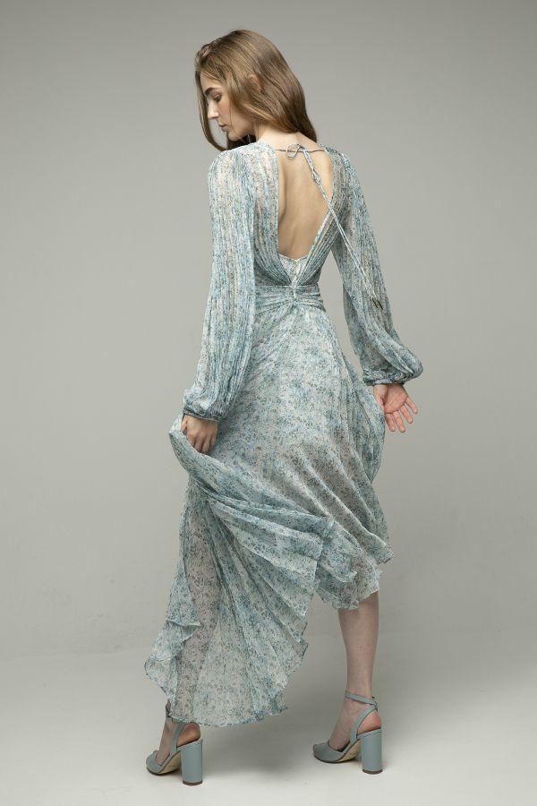 Acler-Astone-vestido-midi-plisado-azul-claro-2