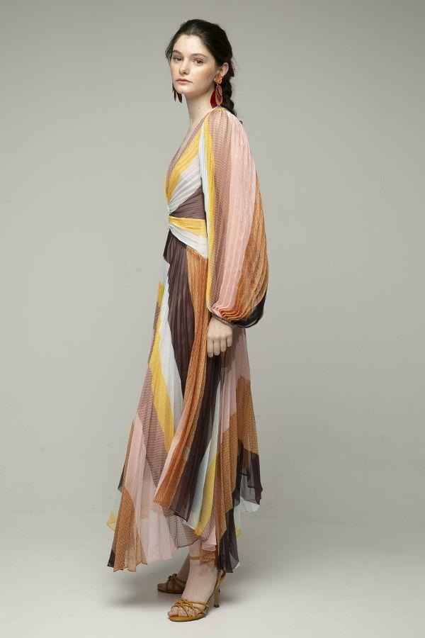 Acler-Astone-vestido-midi-plisado-midi-multicolor-2