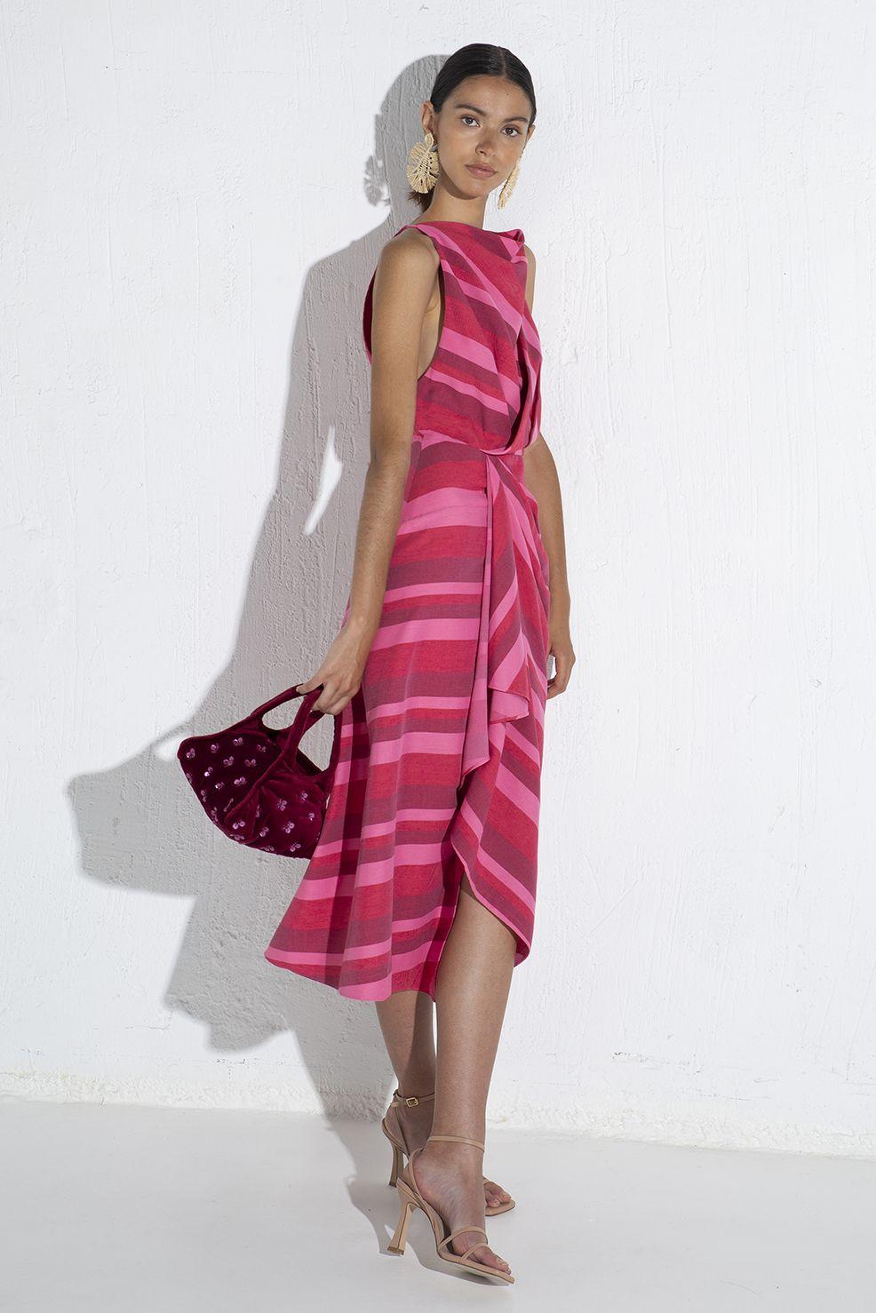 acler-faver-vestido-midi-rojo-fruncido-5