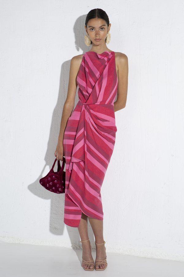 acler-faver-vestido-midi-rojo-fruncido-4