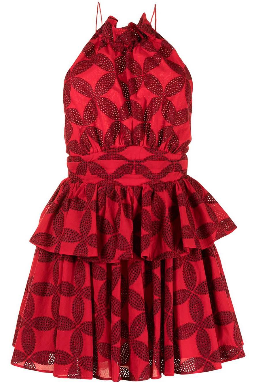 acler-klara-vestido-corto-rojo